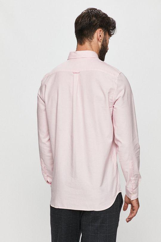 pastelowy różowy Lacoste - Koszula bawełniana