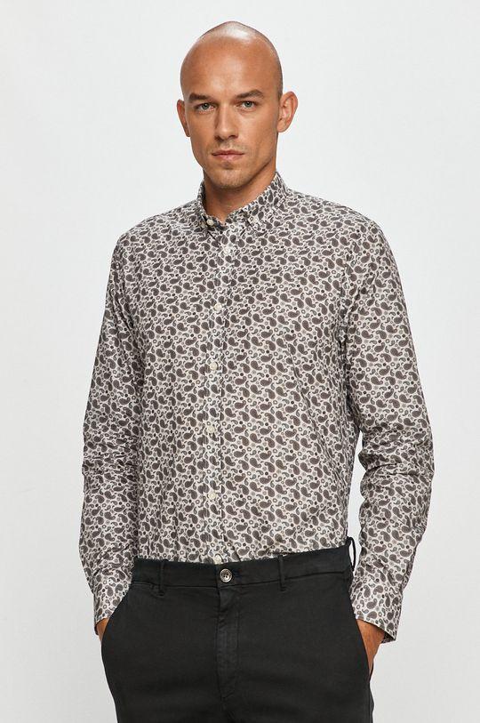 Clean Cut Copenhagen - Bavlnená košeľa sivá