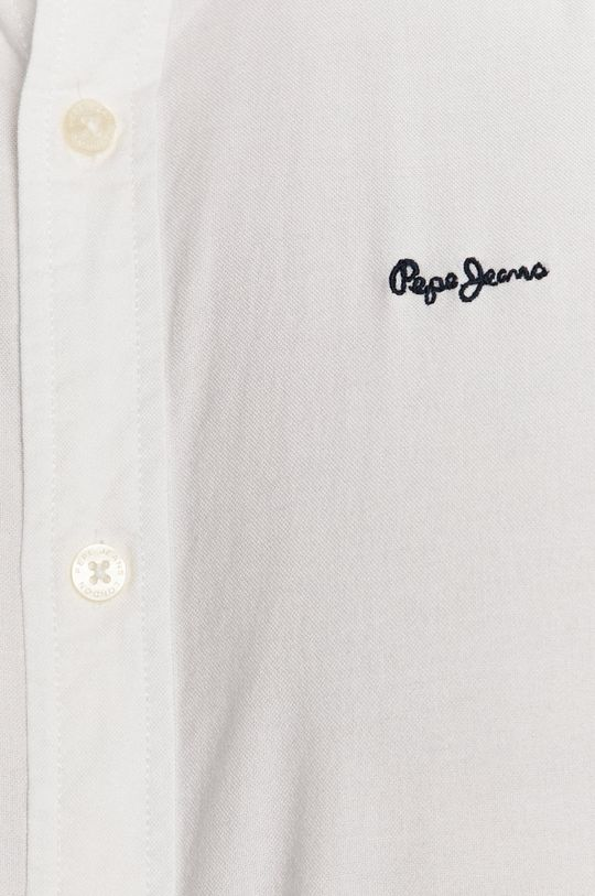 Pepe Jeans - Pamut ing Schar Ro fehér