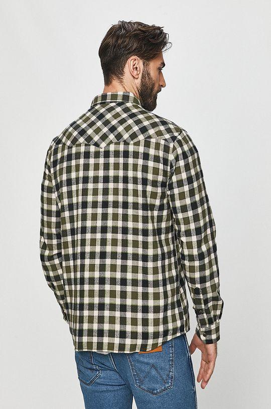 olivová Wrangler - Bavlněné tričko