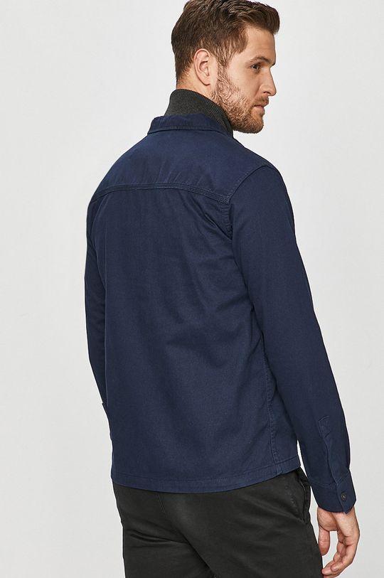tmavomodrá Jack & Jones - Bavlnená košeľa