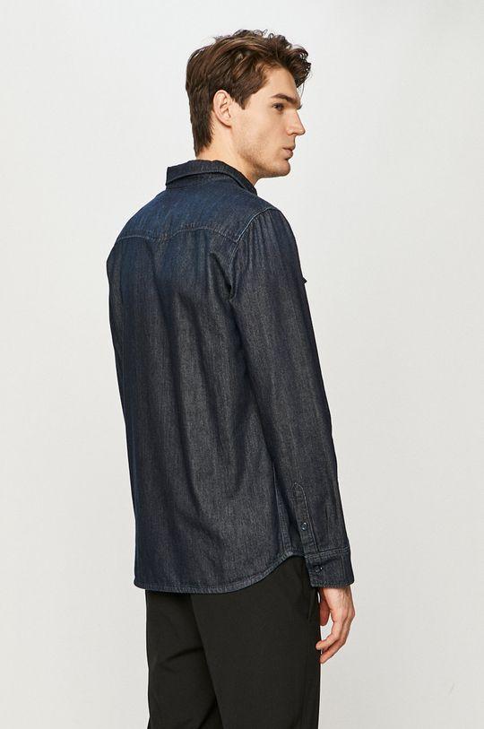námořnická modř Mustang - Džínová košile