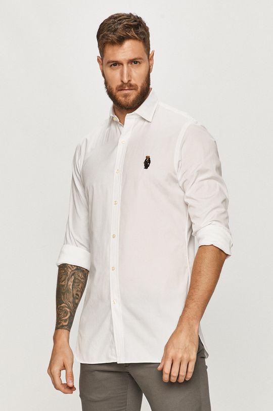 biały Polo Ralph Lauren - Koszula bawełniana Męski