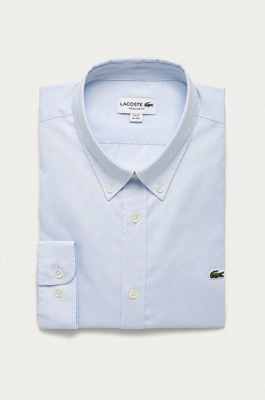 blady niebieski Lacoste - Koszula bawełniana Męski