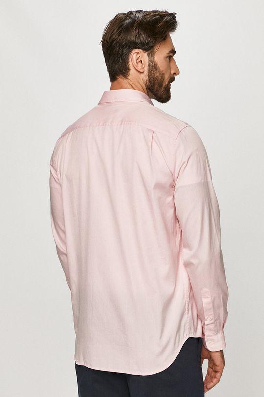 różowy Lacoste - Koszula bawełniana