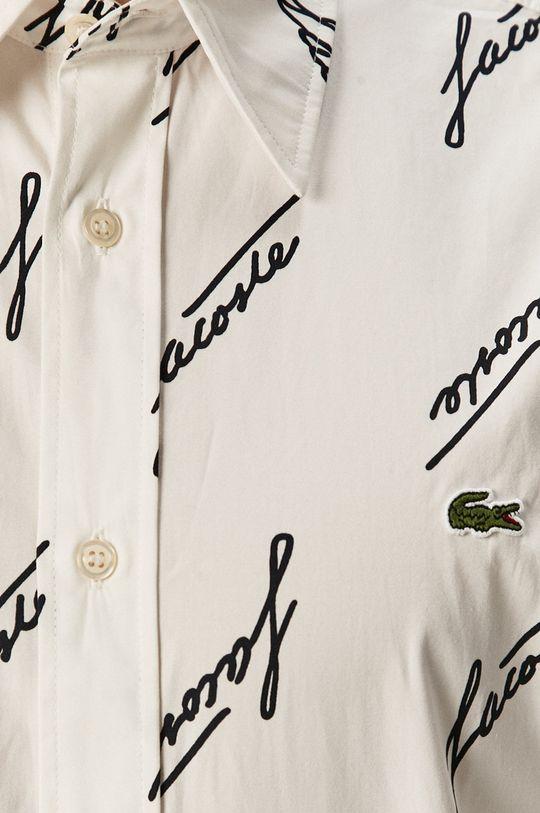 Lacoste - Koszula bawełniana 100 % Bawełna