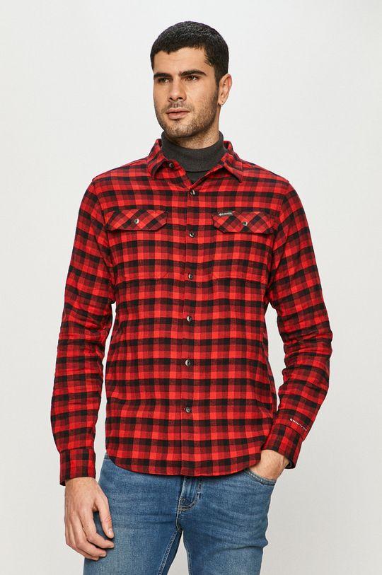 czerwony Columbia - Koszula Męski