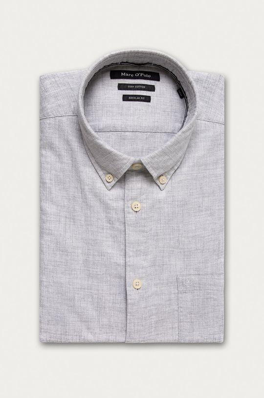 světle šedá Marc O'Polo - Bavlněná košile Pánský