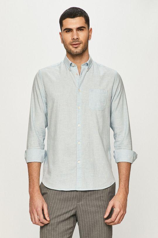 Marc O'Polo - Бавовняна сорочка світло-блакитний