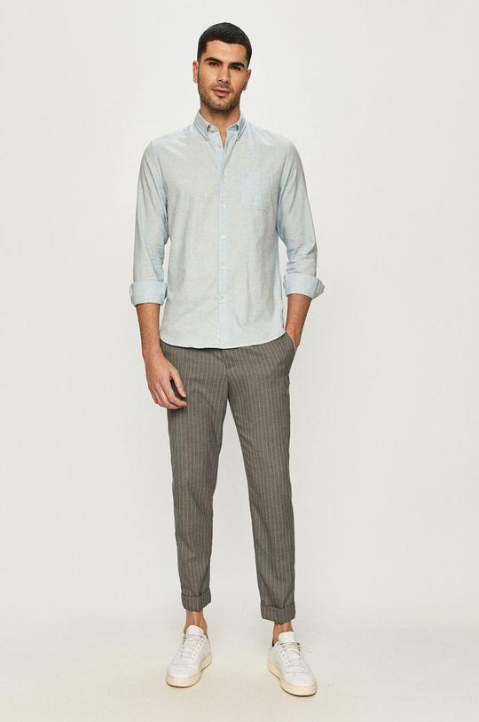 світло-блакитний Marc O'Polo - Бавовняна сорочка