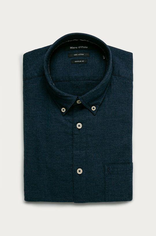 темно-синій Marc O'Polo - Бавовняна сорочка Чоловічий