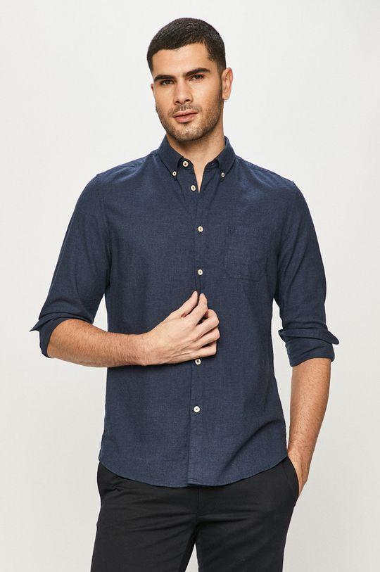 Marc O'Polo - Бавовняна сорочка темно-синій