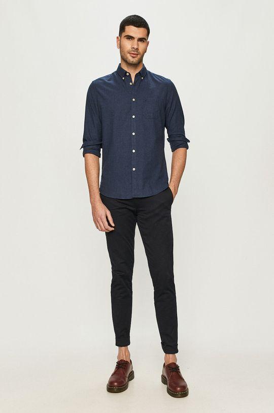 темно-синій Marc O'Polo - Бавовняна сорочка