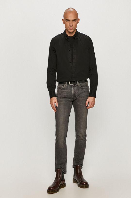 Calvin Klein - Koszula bawełniana Materiał zasadniczy: 100 % Bawełna