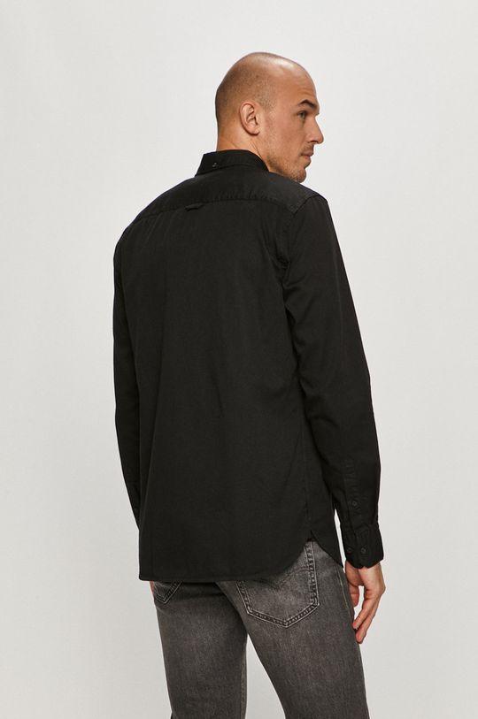 czarny Calvin Klein - Koszula bawełniana