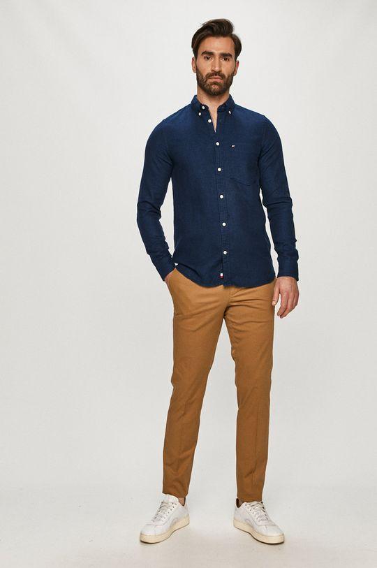 Tommy Hilfiger - Koszula bawełniana 100 % Bawełna