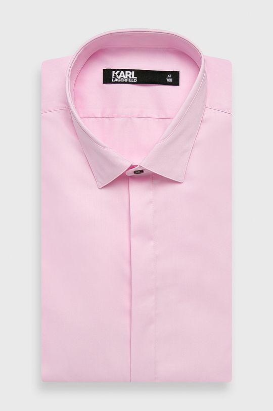 růžová Karl Lagerfeld - Košile Pánský