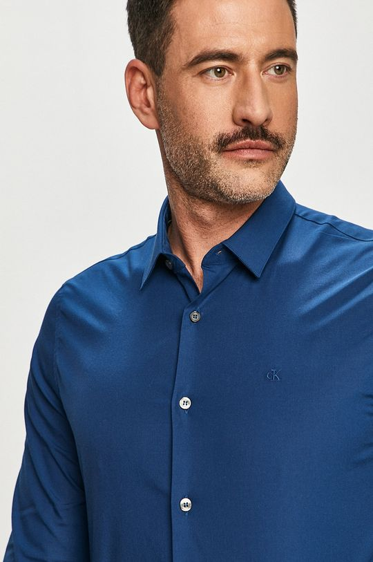 niebieski Calvin Klein Jeans - Koszula Męski
