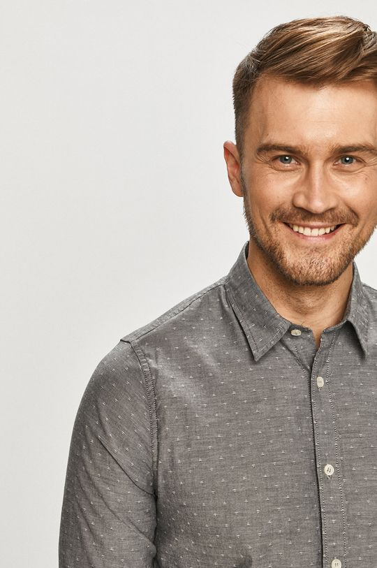 šedá Calvin Klein Jeans - Košile Pánský