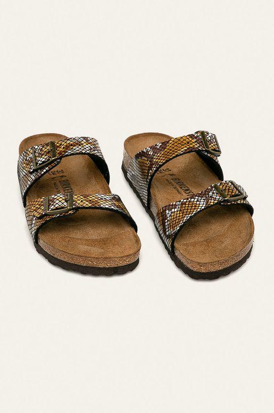 Birkenstock - Pantofle Sydney hnědá