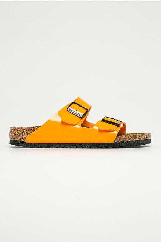 portocaliu Birkenstock - Papuci Arizona De femei