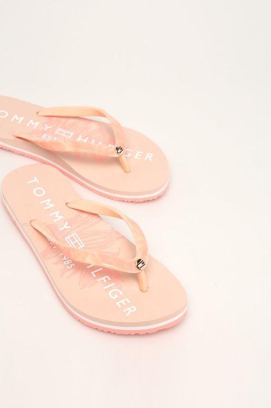 Tommy Hilfiger - Žabky pastelově růžová