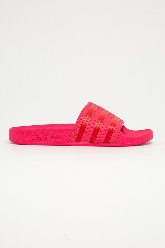 ostry różowy adidas Originals - Klapki Damski