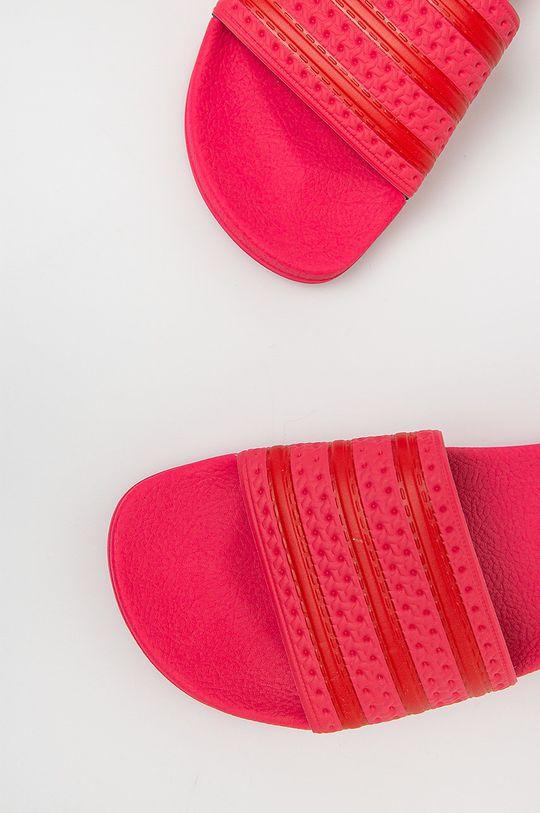 ostry różowy adidas Originals - Klapki