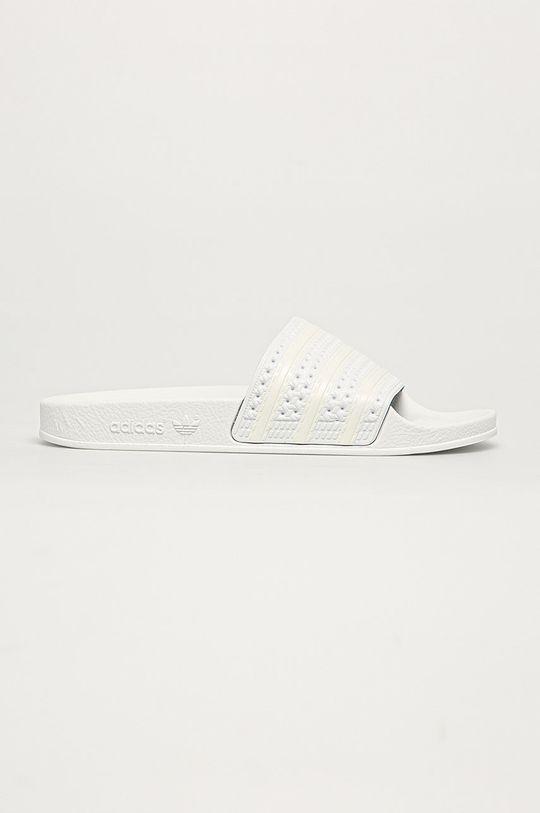 bílá adidas Originals - Pantofle Adilette Dámský