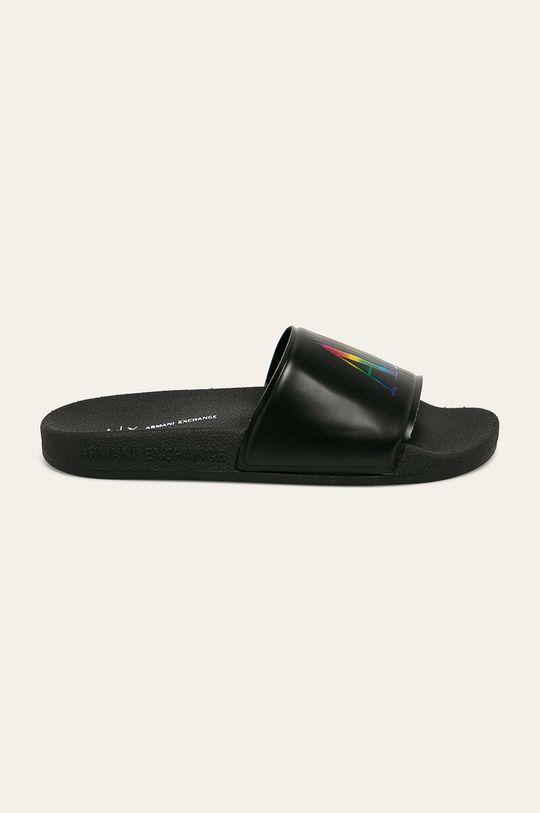 negru Armani Exchange - Papuci De femei