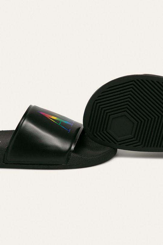 Armani Exchange - Papuci negru