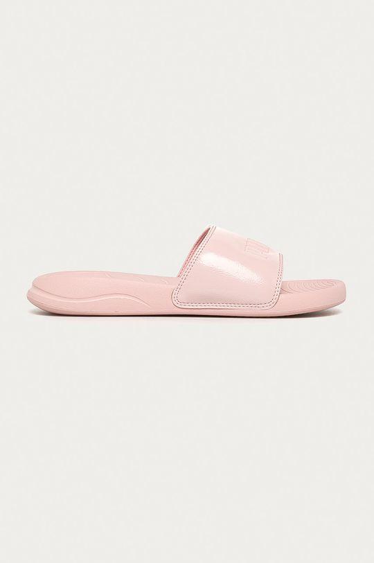 pastelově růžová Puma - Pantofle Popcat 20 Dámský