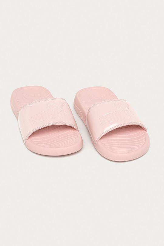 Puma - Pantofle Popcat 20 pastelově růžová