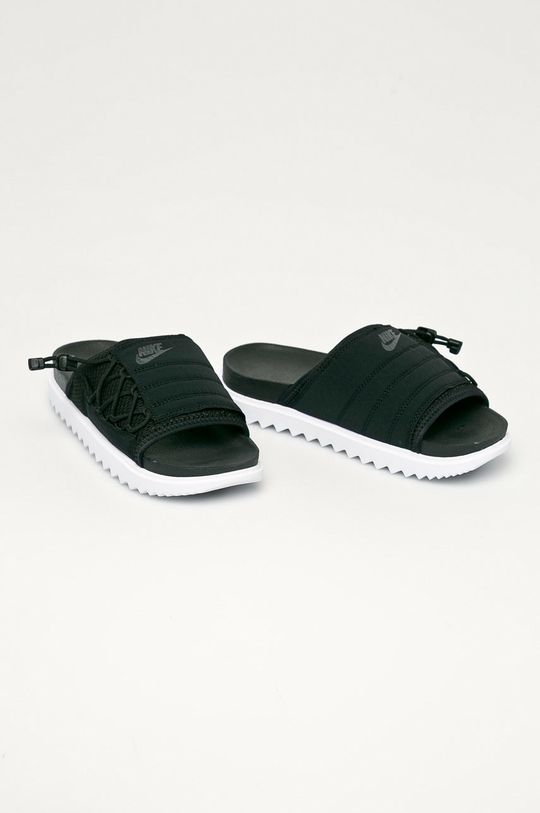 Nike Sportswear - Šľapky Asuna čierna