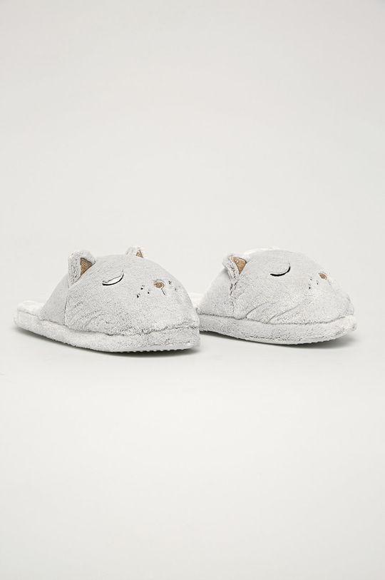 Henderson Ladies - Papuci de casa gri deschis