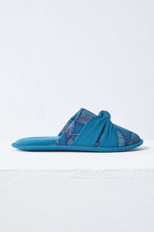 albastru Etam - Papuci de casa Bettina De femei