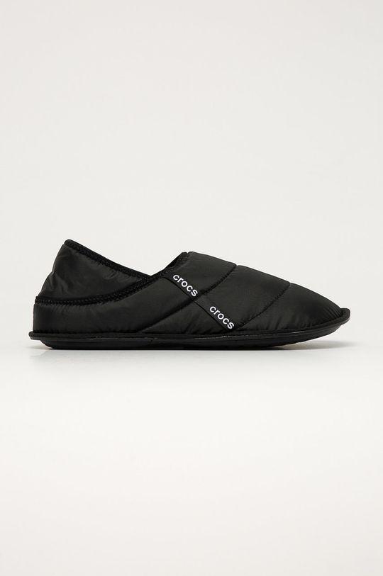 negru Crocs - Papuci de casa De bărbați