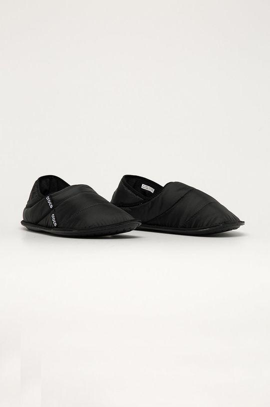 Crocs - Papuci de casa negru