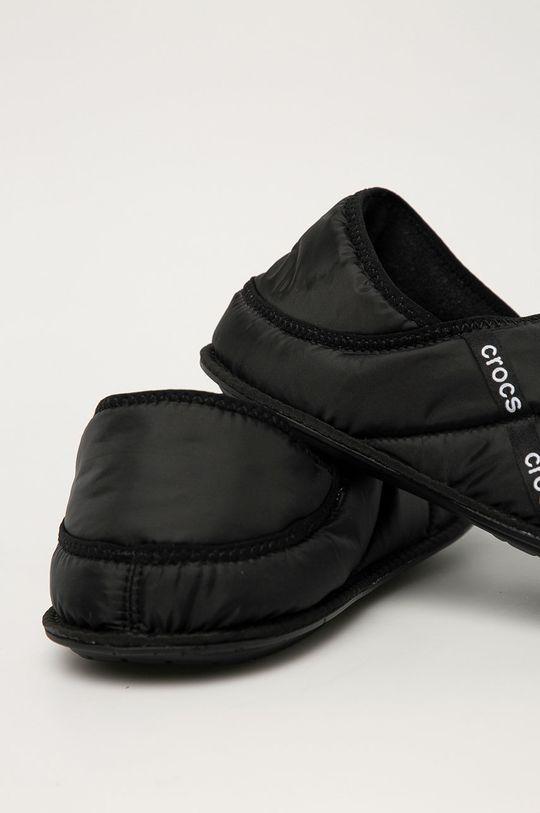 Crocs - Papuci de casa  Gamba: Material textil Interiorul: Material textil Talpa: Material sintetic