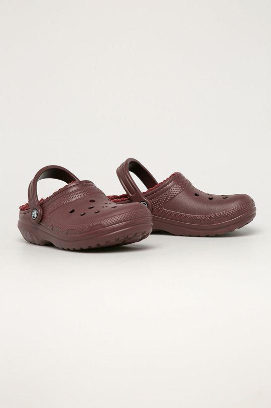 Crocs - Šľapky gaštanová