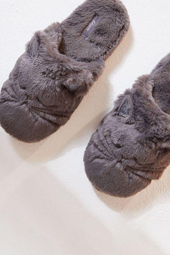 Etam - Papuci de casa Face gri