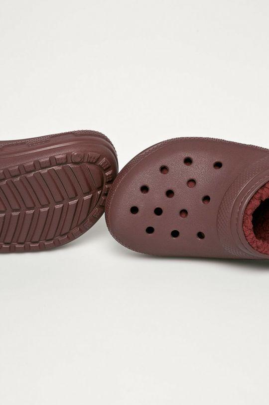 gaštanová Crocs - Šľapky