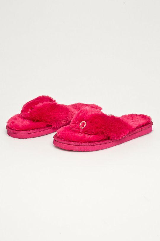 Flip*Flop - Kapcie Original fur ostry różowy