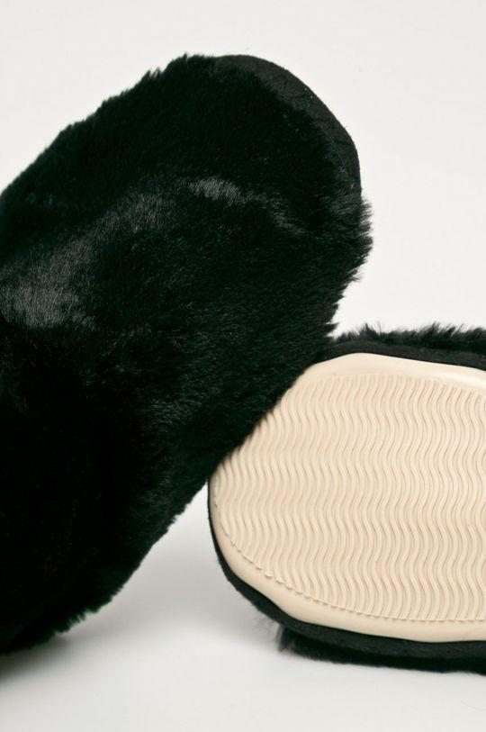 czarny Flip*Flop - Kapcie Yeti