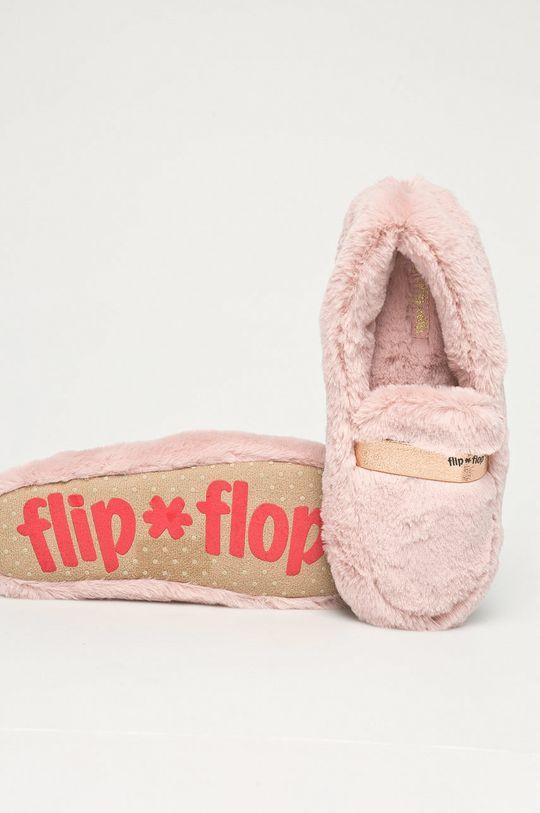 różowy Flip*Flop - Kapcie Classy