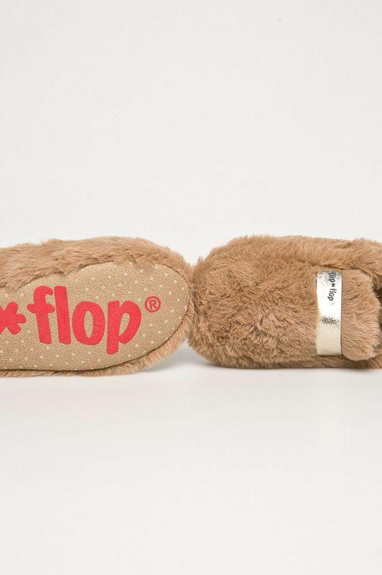 kawowy Flip*Flop - Kapcie Classy