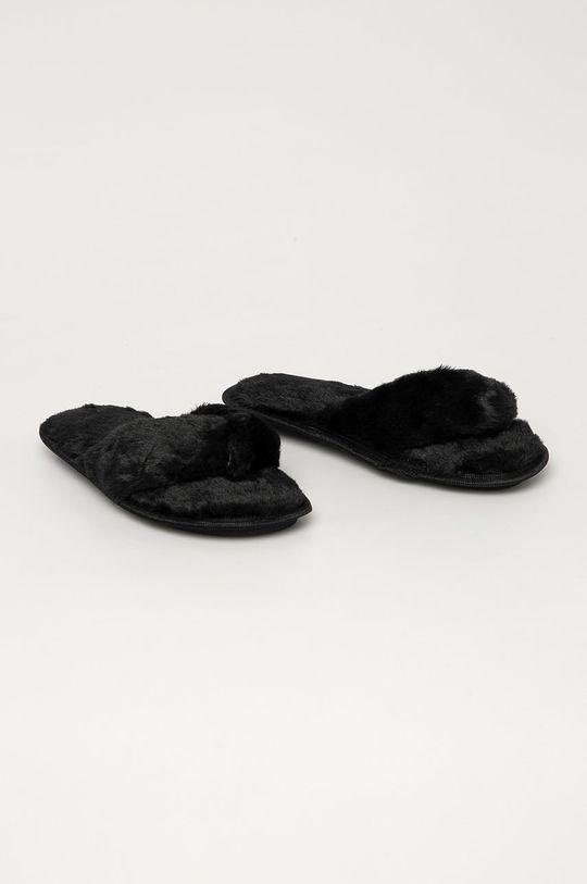 Truffle Collection - Kapcie czarny