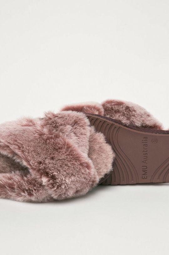 Emu Australia - Klapki skórzane Mayberry Frost Cholewka: Wełna, Wnętrze: Wełna, Podeszwa: Materiał syntetyczny