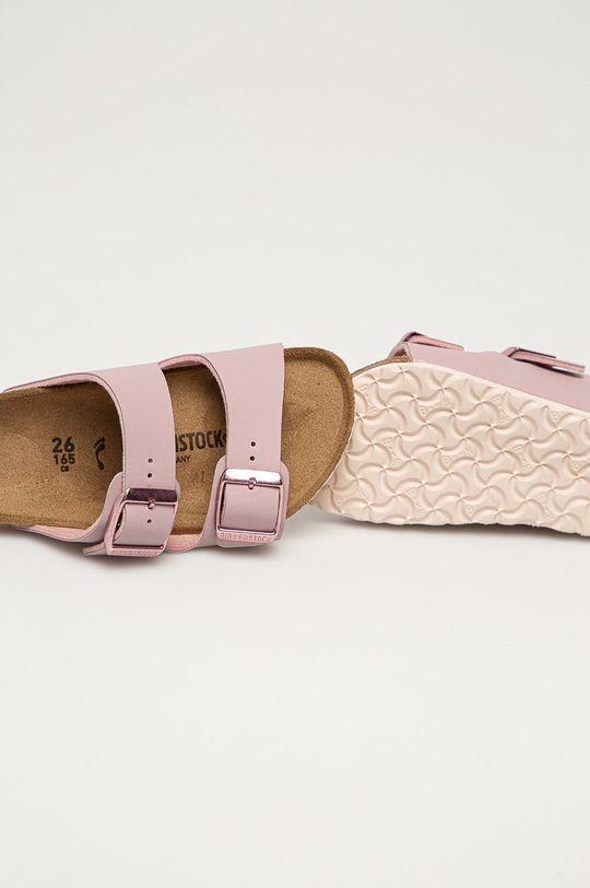 ružová Birkenstock - Detské šľapky Arizona