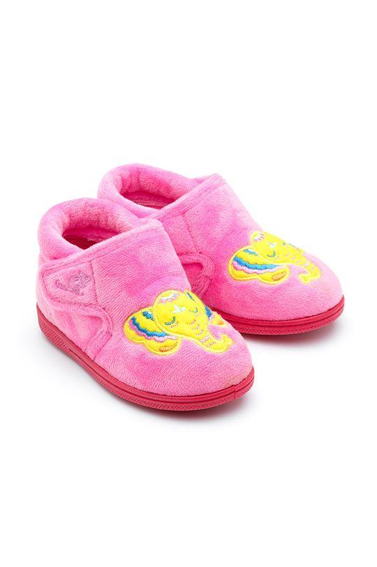 růžová Chipmunks - Dětské papuče Echo Dívčí